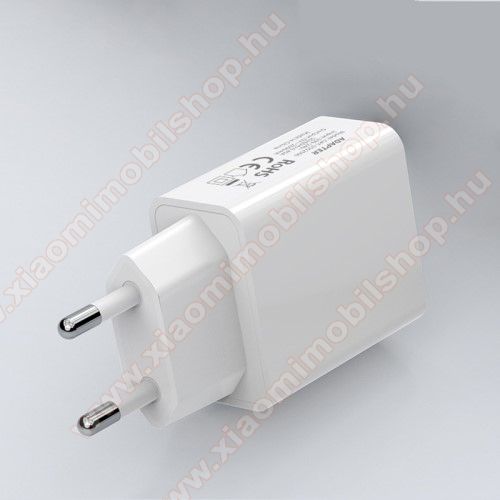 Xiaomi Mi AirDotsHálózati töltő - USB aljzattal, 5V/2000mAh - FEHÉR