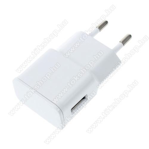 Vodafone Smart V10Hálózati töltő - USB aljzattal, 5V/2000mAh - FEHÉR