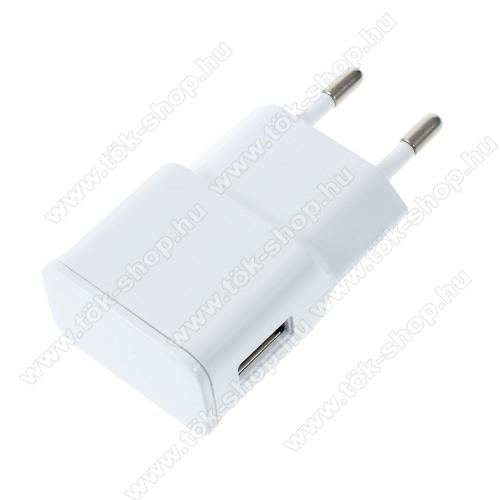 SAMSUNG Galaxy S10 Lite (SM-G770F)Hálózati töltő - USB aljzattal, 5V/2000mAh - FEHÉR