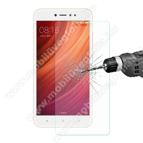 HAT PRINCE előlap védő karcálló edzett üveg - 0,26 mm vékony, 9H, Arc Edge, A képernyő sík részét védi - Xiaomi Redmi Note 5A / Xiaomi Redmi Note 5A Prime / Xiaomi Redmi Y1 / Xiaomi Redmi Y1 Lite - GYÁRI