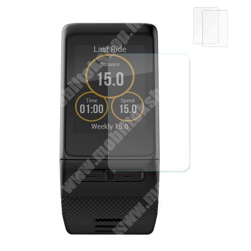 HAT PRINCE előlap védő karcálló edzett üveg - 2db - 0,2 mm vékony, 9H, 2.15D - Garmin Vivoactive HR