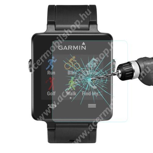 HAT PRINCE előlap védő karcálló edzett üveg - 1db - 0,2 mm vékony, 9H, 2.15D - Garmin Vivoactive
