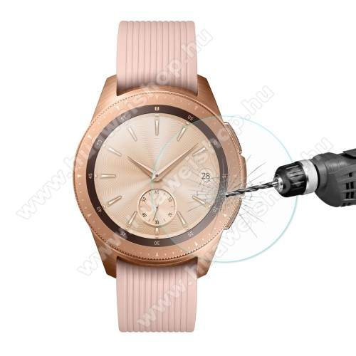 HAT PRINCE előlap védő karcálló edzett üveg - 2db - 0.2mm 9H - SAMSUNG SM-R810NZ Galaxy Watch 42mm