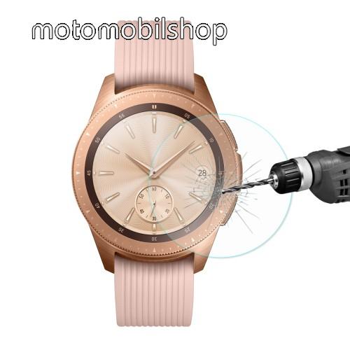 HAT PRINCE előlap védő karcálló edzett üveg - 2db - 0.2mm, 9H, A képernyő sík részét védi - SAMSUNG SM-R810NZ Galaxy Watch 42mm