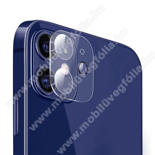 HAT PRINCE kamera lencsevédő karcálló edzett üveg - 1db, törlőkendővel, 2.15D, 9H - APPLE iPhone 12 mini - GYÁRI
