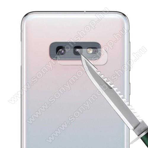 HAT PRINCE kameravédő üvegfólia - 1db, törlőkendővel, 0.2mm, 2.15D, 9H - SAMSUNG SM-G970F Galaxy S10e