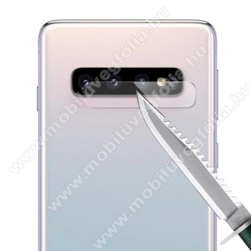 HAT PRINCE kameravédő üvegfólia - 1db, törlőkendővel, 0.2mm, 2.15D, 9H - SAMSUNG SM-G973F Galaxy S10 / SAMSUNG SM-G975F Galaxy S10+