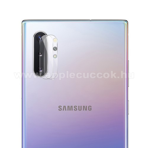 HAT PRINCE kameravédő üvegfólia - 1db, törlőkendővel, 0.2mm, 2.15D, 9H - SAMSUNG SM-N975F Galaxy Note10+ / SAMSUNG SM-N976F Galaxy Note10+ 5G - GYÁRI