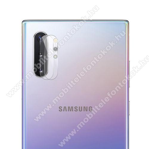 HAT PRINCE kameravédő üvegfólia - 1db, törlőkendővel, 0.2mm, 2.15D, 9H - SAMSUNG Galaxy Note10 Plus (SM-N975F) / SAMSUNG Galaxy Note10 Plus 5G (SM-N976F) - GYÁRI