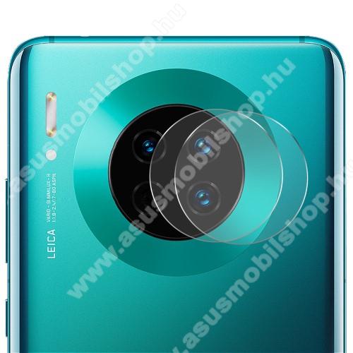 HAT PRINCE kameravédő üvegfólia - 2db, törlőkendővel, 0.2mm, 2.15D, 9H - HUAWEI Mate 30 / HUAWEI Mate 30 5G / HUAWEI Mate 30 Pro / HUAWEI Mate 30 Pro 5G - GYÁRI