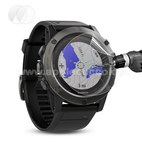 HAT PRINCE képernyővédő fólia - CLEAR - 2DB - Garmin Fenix 5X