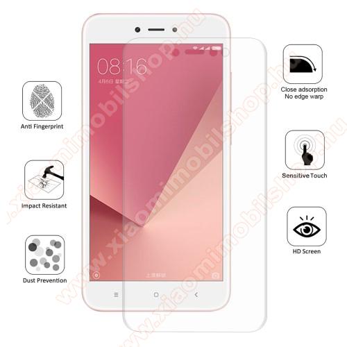 HAT PRINCE képernyővédő fólia - Ultra Clear, 0.1mm, 2.5D, TELJES KÉPERNYŐT VÉDI!, TPU - Xiaomi Redmi Note 5A / Xiaomi Redmi Y1 Lite - GYÁRI