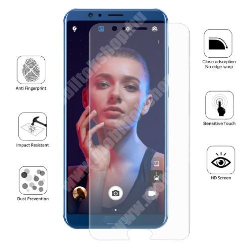 HUAWEI Honor View 10 HAT PRINCE képernyővédő fólia - Ultra Clear, 0.1mm, 2.5D, TELJES KÉPERNYŐT VÉDI! - HUAWEI Honor V10 / HUAWEI Honor View 10 - GYÁRI