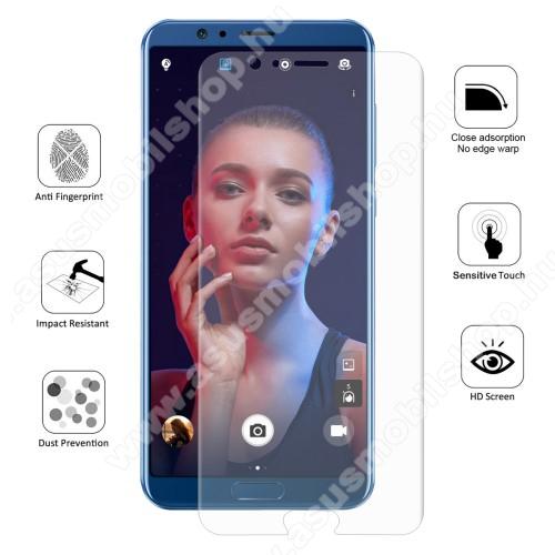HAT PRINCE képernyővédő fólia - Ultra Clear, 0.1mm, 2.5D, TELJES KÉPERNYŐT VÉDI! - HUAWEI Honor V10 / HUAWEI Honor View 10 - GYÁRI