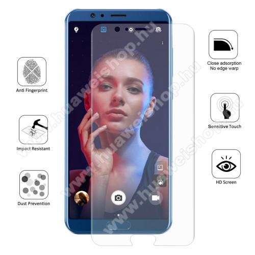 HUAWEI Honor V10HAT PRINCE képernyővédő fólia - Ultra Clear, 0.1mm, 2.5D, TELJES KÉPERNYŐT VÉDI! - HUAWEI Honor V10 / HUAWEI Honor View 10 - GYÁRI