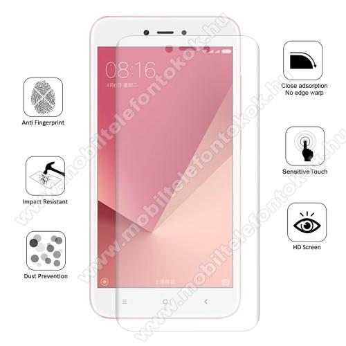 HAT PRINCE képernyővédő fólia - Ultra Clear, 0.1mm, 2.5D, TELJES KÉPERNYŐT VÉDI! - Xiaomi Redmi 5A - GYÁRI