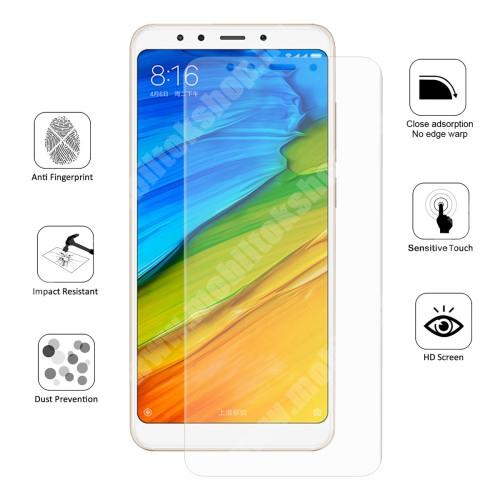 HAT PRINCE képernyővédő fólia - Ultra Clear, 0.1mm, 2.5D, TELJES KÉPERNYŐT VÉDI! - Xiaomi Redmi 5 - GYÁRI