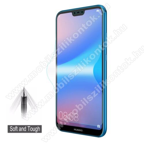 HAT PRINCE képernyővédő fólia - Ultra Clear, 0.1mm, 2.5D, TELJES KÉPERNYŐT VÉDI! - HUAWEI P20 lite (2018) / HUAWEI Nova 3e - GYÁRI