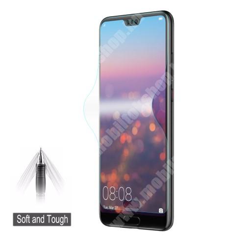 HAT PRINCE képernyővédő fólia - Ultra Clear, 0.1mm, 2.5D, TELJES KÉPERNYŐT VÉDI! - Huawei P20 Pro - GYÁRI