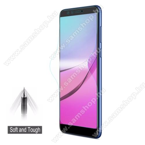 HAT PRINCE képernyővédő fólia - Ultra Clear, 0.1mm, TELJES KÉPERNYŐT VÉDI! - HUAWEI Y9 (2018) / HUAWEI Enjoy 8 Plus - GYÁRI