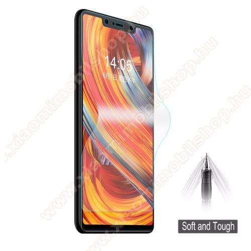 HAT PRINCE képernyővédő fólia - Ultra Clear, 0.1mm, 2.5D, TELJES KÉPERNYŐT VÉDI!, TPU - Xiaomi Mi 8 SE - GYÁRI