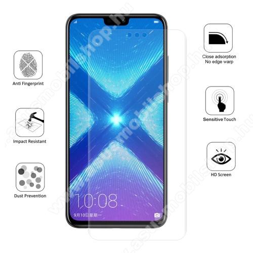 HAT PRINCE képernyővédő fólia - Ultra Clear, 0.1mm, TELJES KÉPERNYŐT VÉDI! - HUAWEI Honor 8X / HUAWEI Honor View 10 Lite - GYÁRI