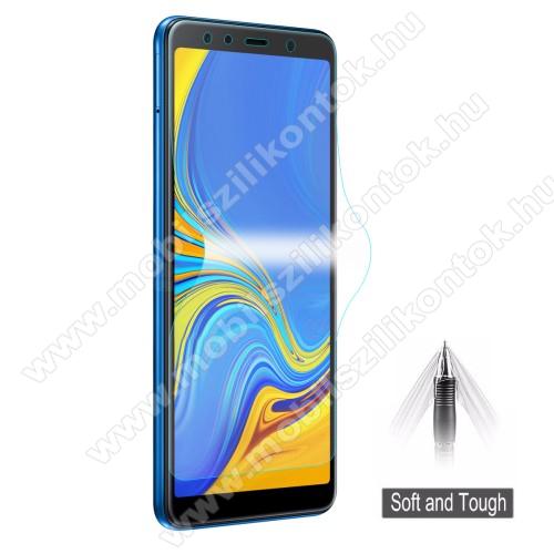 HAT PRINCE képernyővédő fólia - Ultra Clear, 0.1mm, TELJES KÉPERNYŐT VÉDI! - SAMSUNG SM-A750F Galaxy A7 (2018) - GYÁRI