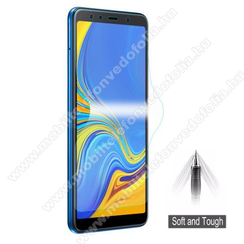 SAMSUNG SM-A750F Galaxy A7 (2018)HAT PRINCE képernyővédő fólia - Ultra Clear, 0.1mm, TELJES KÉPERNYŐT VÉDI! - SAMSUNG SM-A750F Galaxy A7 (2018) - GYÁRI