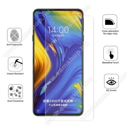 HAT PRINCE képernyővédő fólia - Ultra Clear, 0.1mm, 2.5D, TELJES KÉPERNYŐT VÉDI!, TPU - Xiaomi Mi Mix 3 - GYÁRI