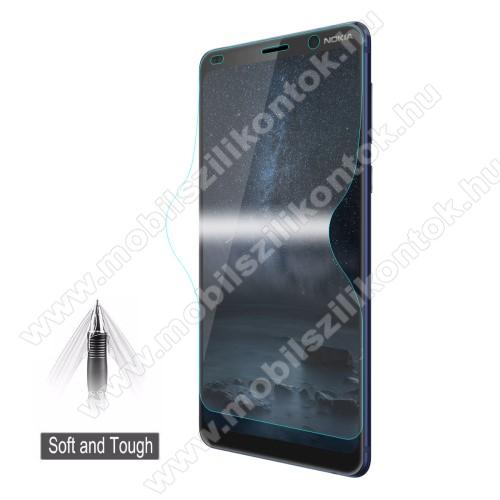 HAT PRINCE képernyővédő fólia - Ultra Clear, 0.1mm, TELJES KÉPERNYŐT VÉDI! - NOKIA 9 PureView - GYÁRI