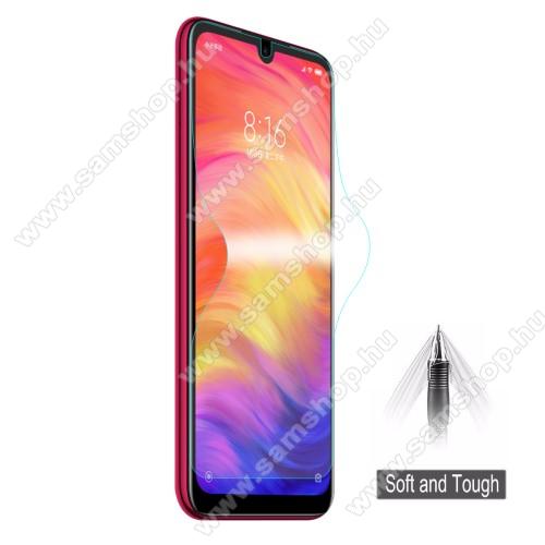 HAT PRINCE képernyővédő fólia - Ultra Clear, 0.1mm, TELJES KÉPERNYŐT VÉDI! - Xiaomi Redmi Note 7 / Xiaomi Redmi Note 7 Pro / Xiaomi Redmi Note 7S - GYÁRI