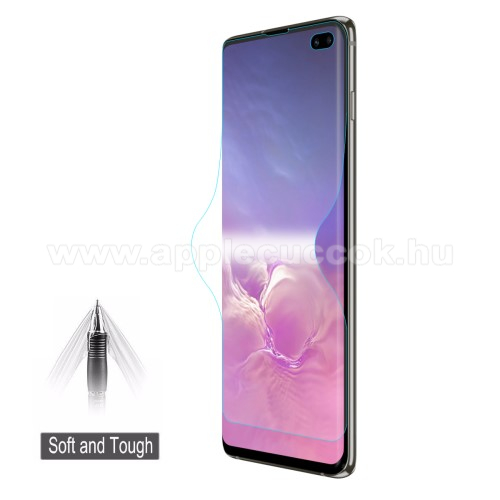 HAT PRINCE képernyővédő fólia - Ultra Clear, 0.1mm, TELJES KÉPERNYŐT VÉDI! - SAMSUNG SM-G975F Galaxy S10+ - GYÁRI
