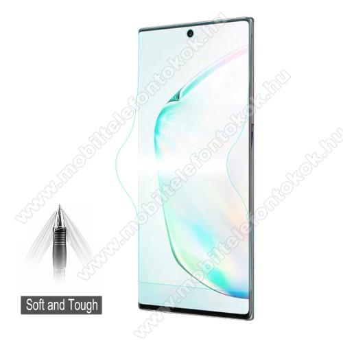 HAT PRINCE képernyővédő fólia - Ultra Clear, 0.1mm, TELJES KÉPERNYŐT VÉDI! - SAMSUNG Galaxy Note10 Plus (SM-N975F) / SAMSUNG Galaxy Note10 Plus 5G (SM-N976F) - GYÁRI
