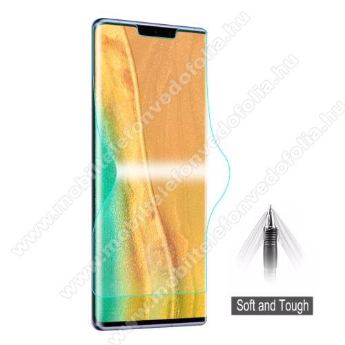 HAT PRINCE képernyővédő fólia - Ultra Clear, 0.1mm, TELJES KÉPERNYŐT VÉDI! - HUAWEI Mate 30 Pro / HUAWEI Mate 30 Pro 5G - GYÁRI