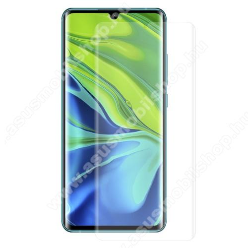 HAT PRINCE képernyővédő fólia - Ultra Clear, PET (műanyag), 1db, A TELJES KÉPERNYŐT VÉDI! - Xiaomi Mi Note 10 / Xiaomi Mi Note 10 Pro / Xiaomi Mi CC9 Pro / Xiaomi Mi Note 10 Lite - GYÁRI