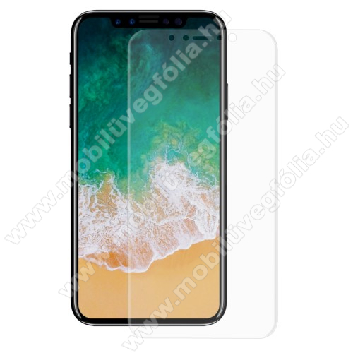HAT PRINCE képernyővédő fólia - Ultra Clear, PET (műanyag), 1db, A TELJES KÉPERNYŐT VÉDI! - APPLE iPhone 11 Pro / APPLE iPhone X / APPLE iPhone XS - GYÁRI