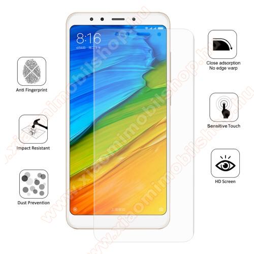 Xiaomi Redmi 5HAT PRINCE TPU képernyővédő fólia - Ultra Clear, 0.1mm, 2.5D, TELJES KÉPERNYŐT VÉDI! - Xiaomi Redmi 5 - GYÁRI