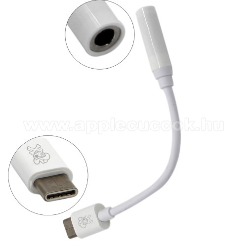 HAT PRINCE USB Type-C / 3,5mm Jack audio adapter k�bel - FEH�R