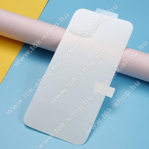 Hátlapvédő fólia - Clear - 1db, törlőkendővel, A teljes hátlapot védi - APPLE iPhone 11 Pro