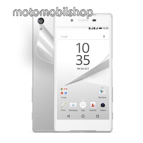Hátlapvédő fólia - HD Clear - SONY Xperia Z5 / Z5 Dual