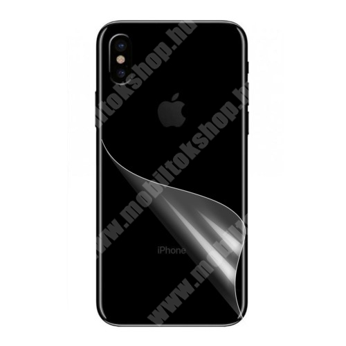 Hátlapvédő fólia - Ultra Clear - Apple iPhone X