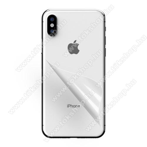 Hátlapvédő fólia - Ultra Clear - APPLE iPhone XS Max