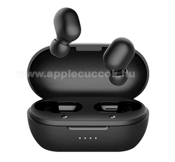 APPLE iPad Pro 12.9 (2017)HAYLOU GT1 PRO bluetooth SZTEREO fülhallgató - FEKETE - v5.0, TWS, mikrofon, zajszűrő, érintésvezérlés, akár 26 óra zenelejátszás, IPX5, 800mAh töltőtok - GT1_PRO_B - GYÁRI
