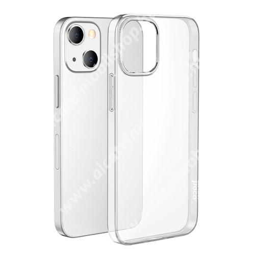HOCO LIGHT szilikon védő tok / hátlap - ÁTLÁTSZÓ - Apple iPhone 13 mini - GYÁRI