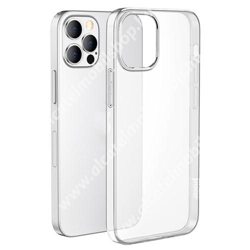 HOCO LIGHT szilikon védő tok / hátlap - ÁTLÁTSZÓ - Apple iPhone 13 Pro - GYÁRI
