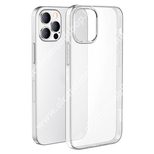 HOCO LIGHT szilikon védő tok / hátlap - ÁTLÁTSZÓ - Apple iPhone 13 Pro Max - GYÁRI