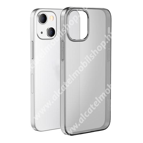 HOCO LIGHT szilikon védő tok / hátlap - ÁTTETSZŐ SZÜRKE - APPLE iPhone 13 mini - GYÁRI