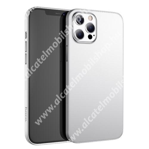 HOCO THIN műanyag védő tok / hátlap - 0.45mm, ultravékony - ÁTLÁTSZÓ - APPLE iPhone 13 Pro Max - GYÁRI