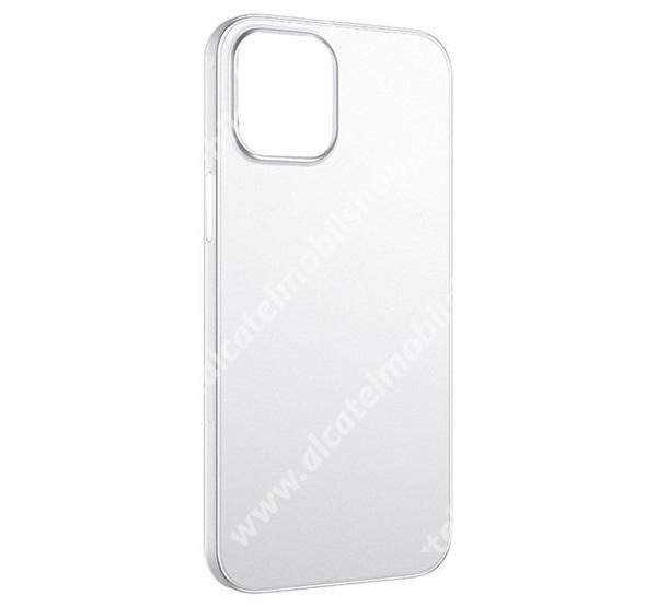 HOCO THIN műanyag védő tok / hátlap - 0.45mm, ultravékony - ÁTLÁTSZÓ - APPLE iPhone 13 Pro - GYÁRI