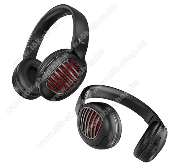 HOCO W23 BRILLIANT BLUETOOTH SZTEREO fejhallgató - v5.0, sztereo, mikrofon - FEKETE - W23 - GYÁRI